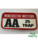 Winchester Western AA 25 Trap Patch
