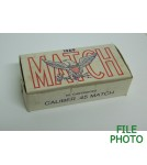 Remington Match 45 ACP Ammunition