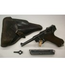 German P.08 Luger Pistol by Mauser w/ Holster dated 41