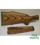 Stock & Forearm Set - Laminated Hard Wood - MC - Checkered - Original