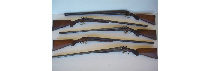 Remington Model 1889 Hammer Double Shotgun Parts