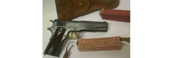 United States Military Model 1911 Pistol Parts
